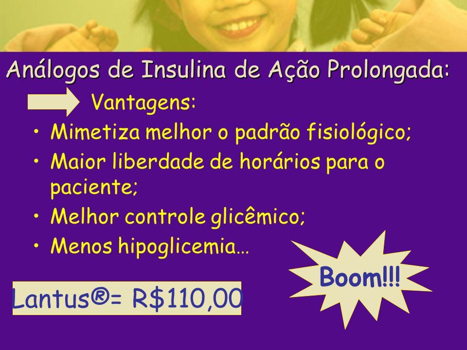Análogos de Insulina de Ação Prolongada: