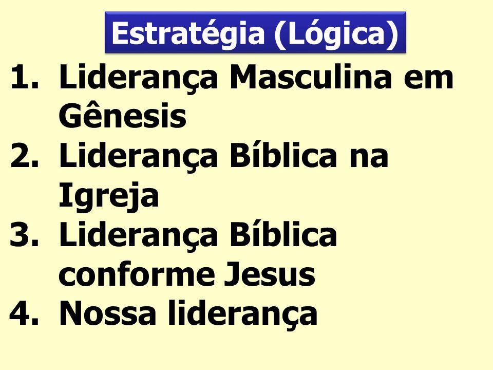 Liderança Masculina em Gênesis Liderança Bíblica na Igreja