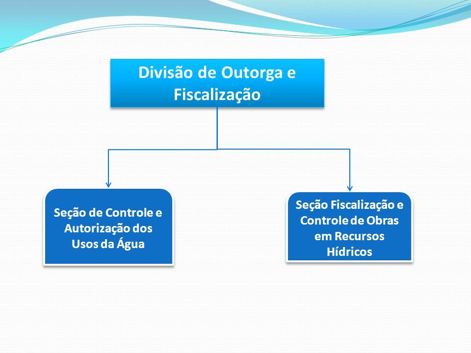 Divisão de Outorga e Fiscalização