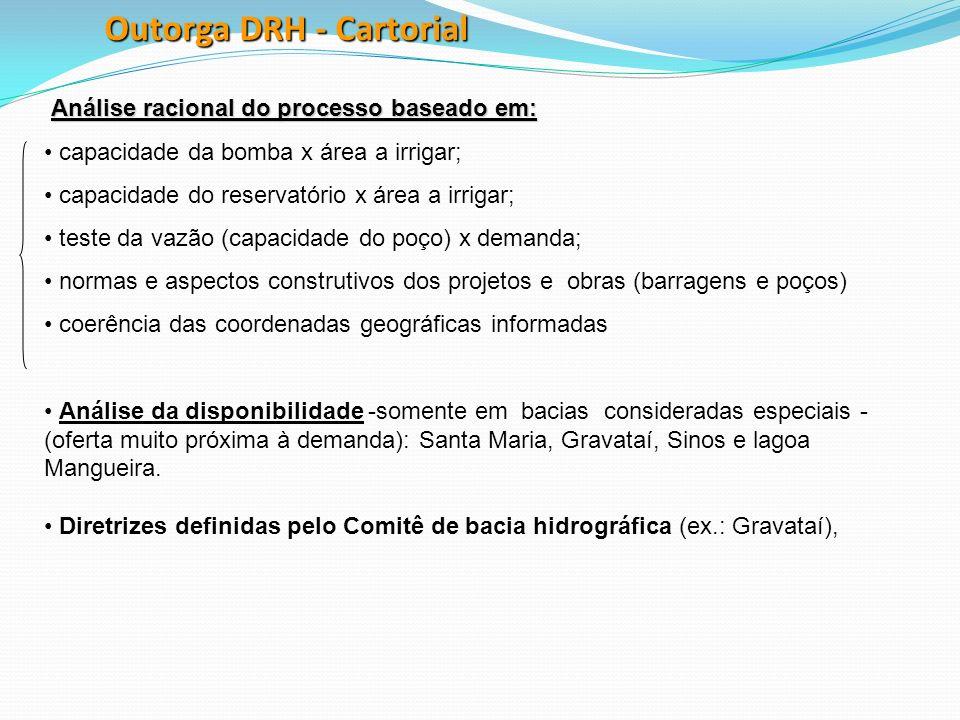 Outorga DRH - Cartorial