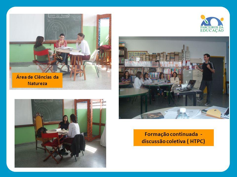 Formação continuada - discussão coletiva ( HTPC)