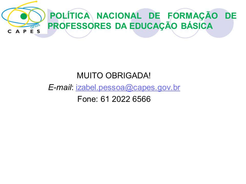 E-mail: izabel.pessoa@capes.gov.br