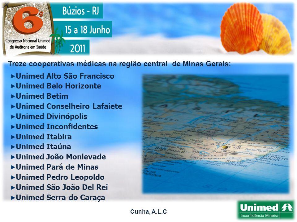 Treze cooperativas médicas na região central de Minas Gerais: