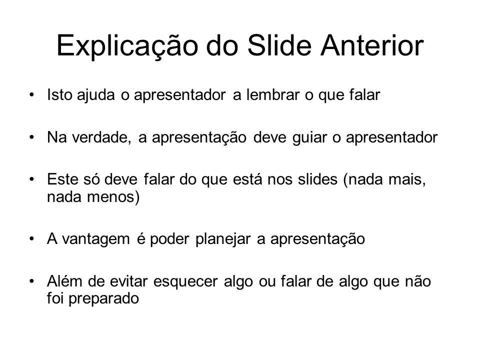 Explicação do Slide Anterior