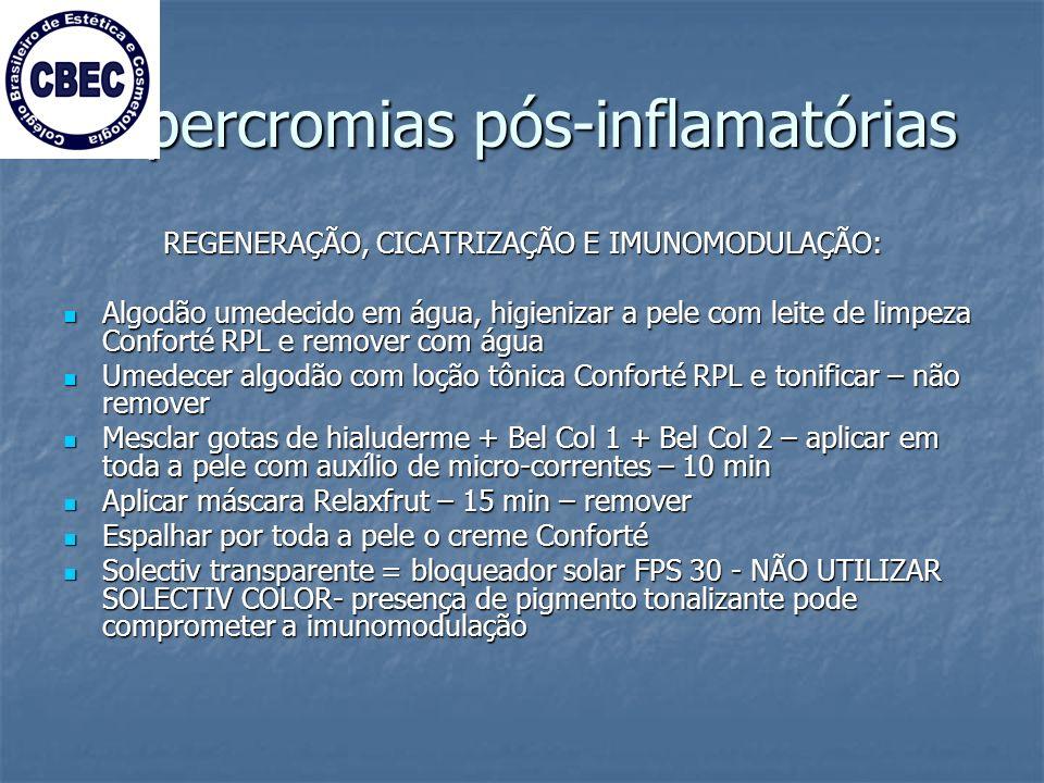 Hipercromias pós-inflamatórias