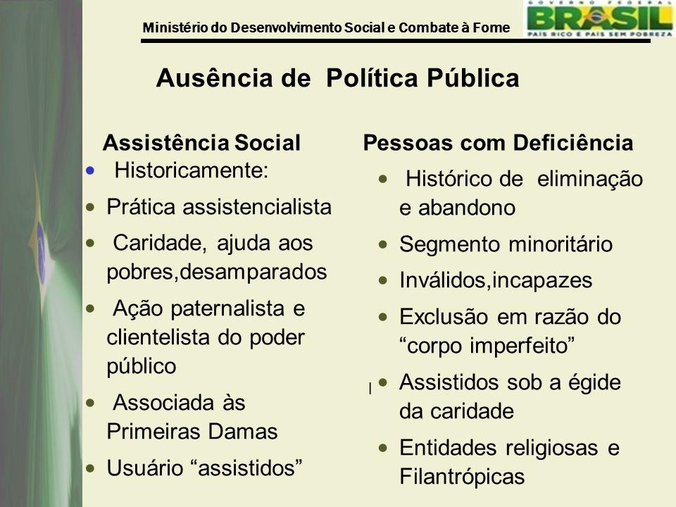 Ausência de Política Pública