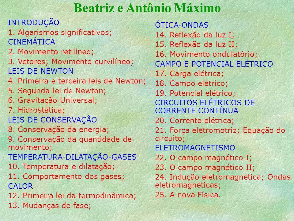 Beatriz e Antônio Máximo