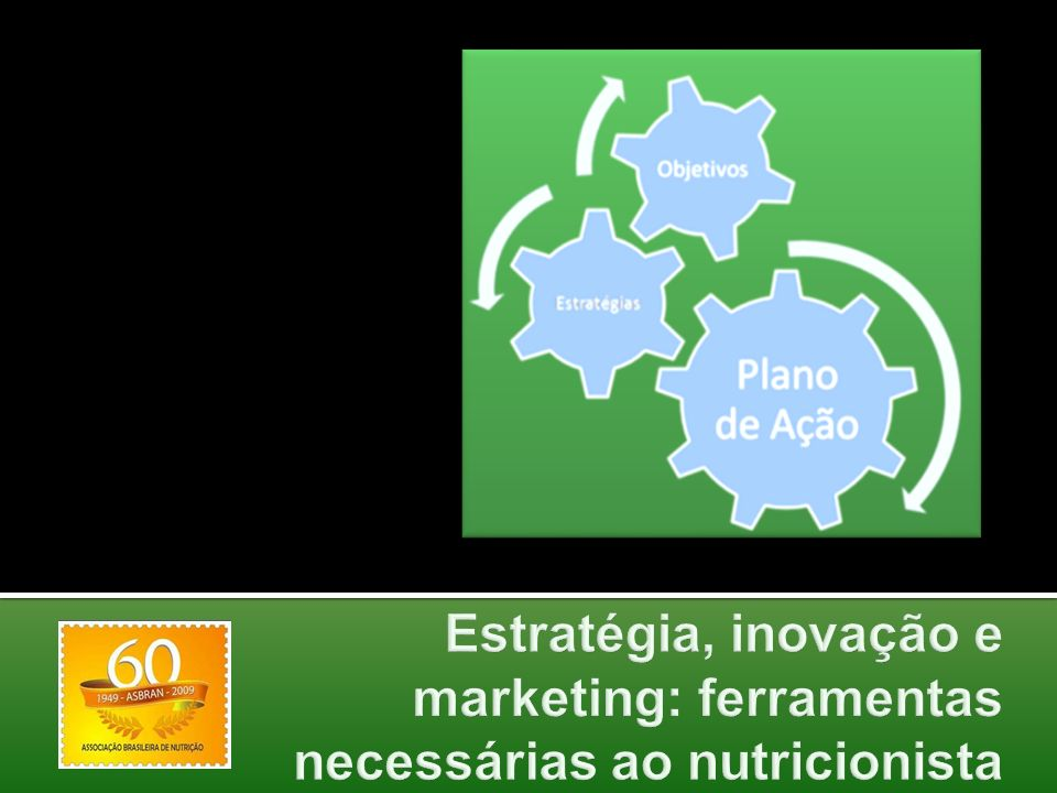 Estratégia, inovação e marketing: ferramentas necessárias ao nutricionista