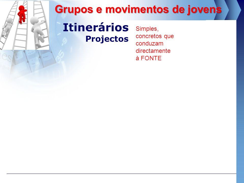 Itinerários Projectos