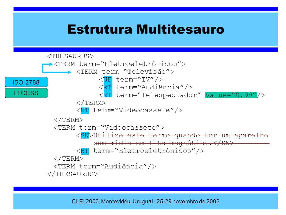 Estrutura Multitesauro