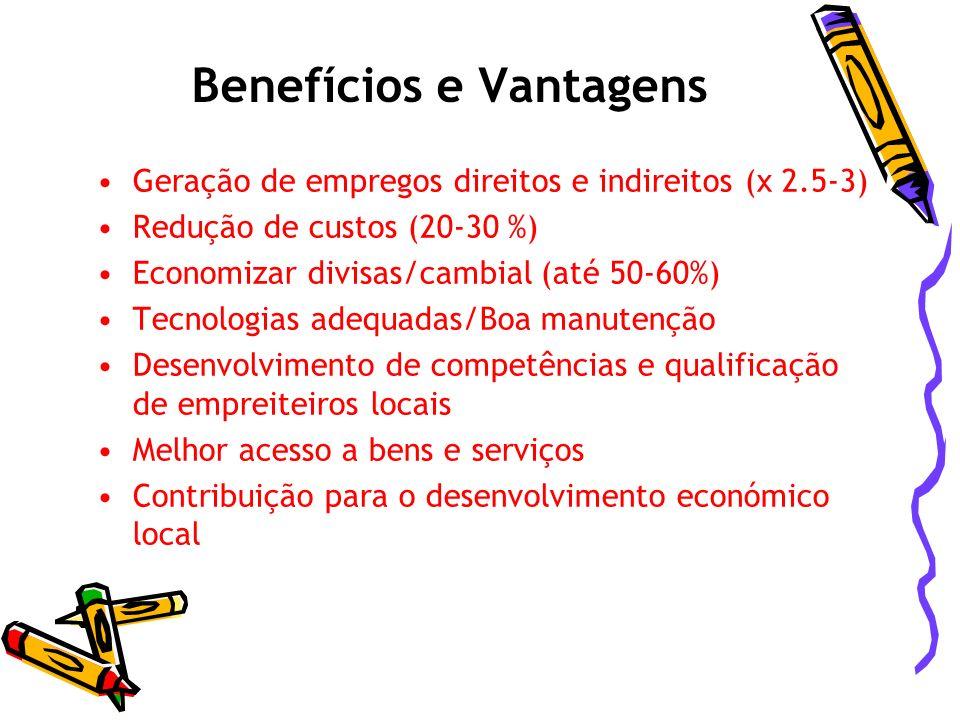 Benefícios e Vantagens