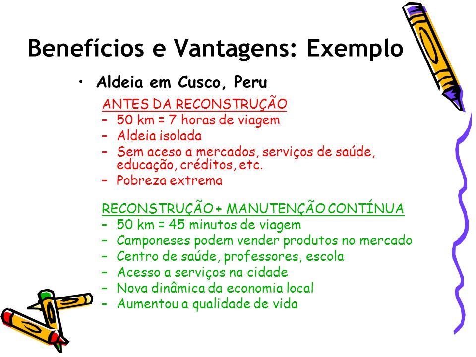 Benefícios e Vantagens: Exemplo