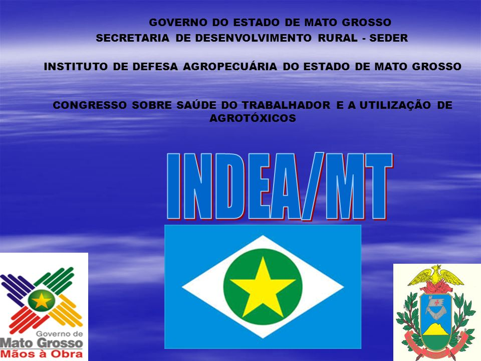 INDEA/MT GOVERNO DO ESTADO DE MATO GROSSO