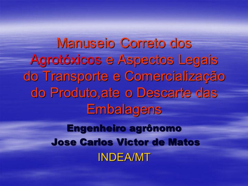 Engenheiro agrônomo Jose Carlos Victor de Matos INDEA/MT