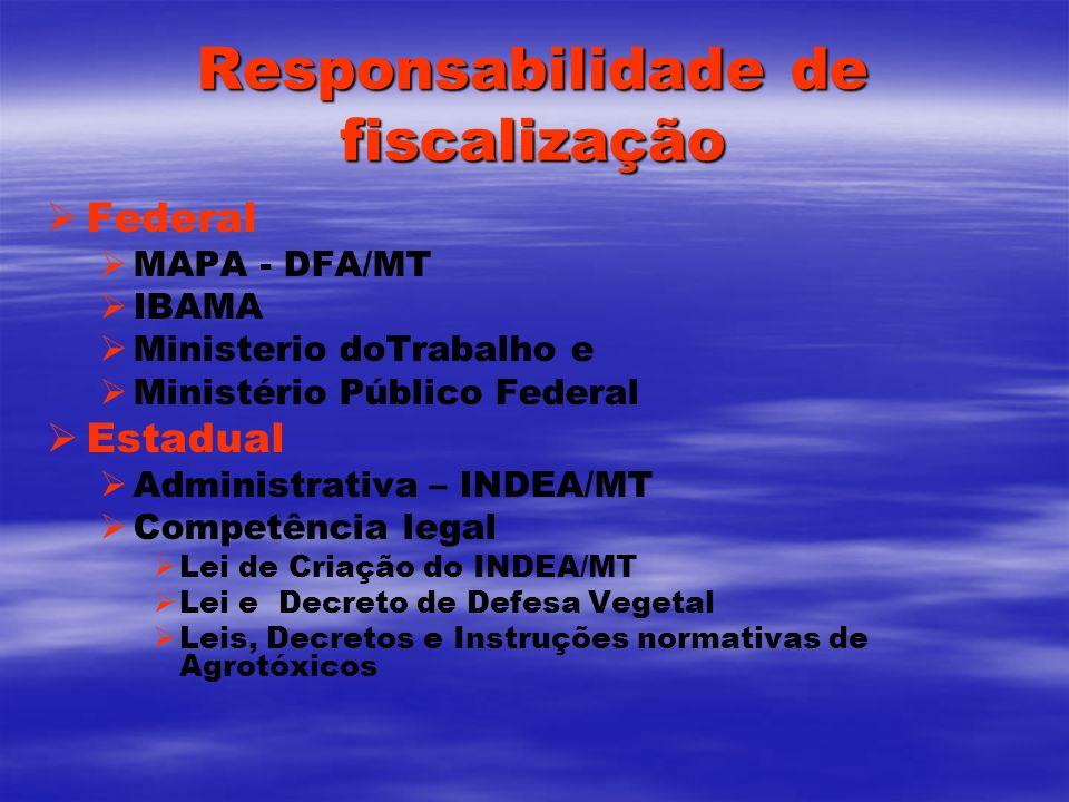 Responsabilidade de fiscalização