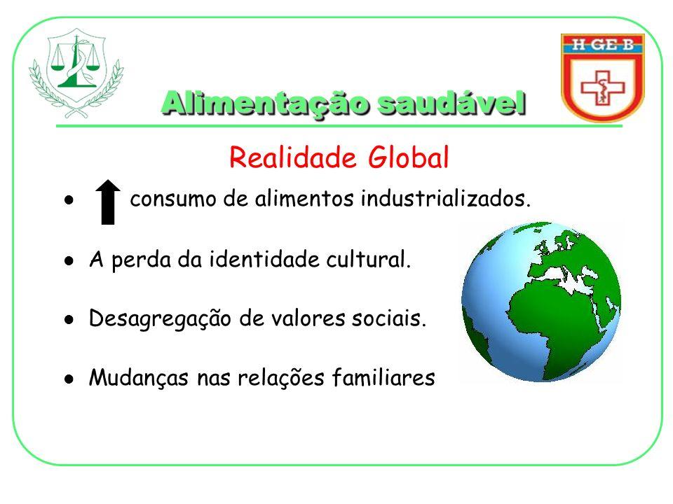 Alimentação saudável Realidade Global