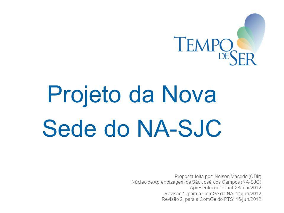 Projeto da Nova Sede do NA-SJC