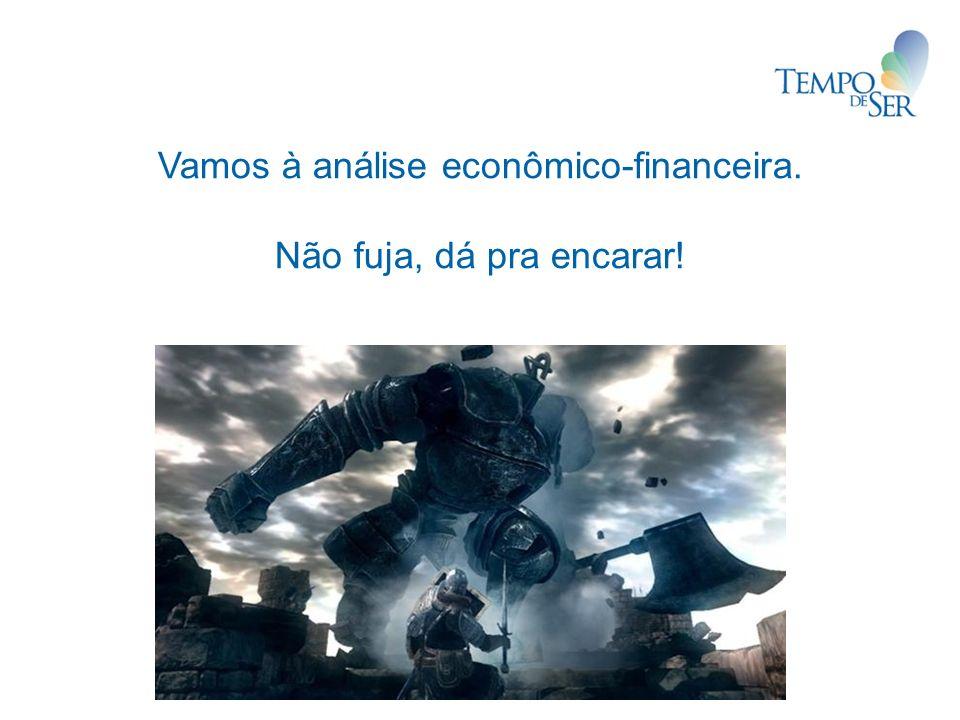 Vamos à análise econômico-financeira.