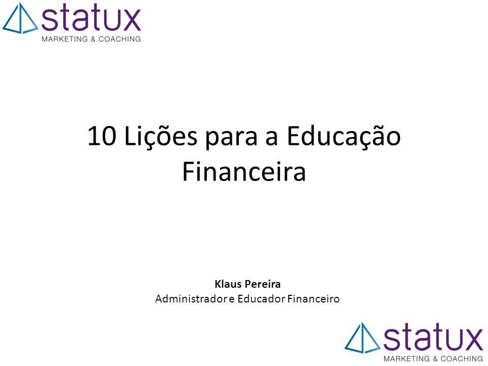 10 Lições para a Educação Financeira