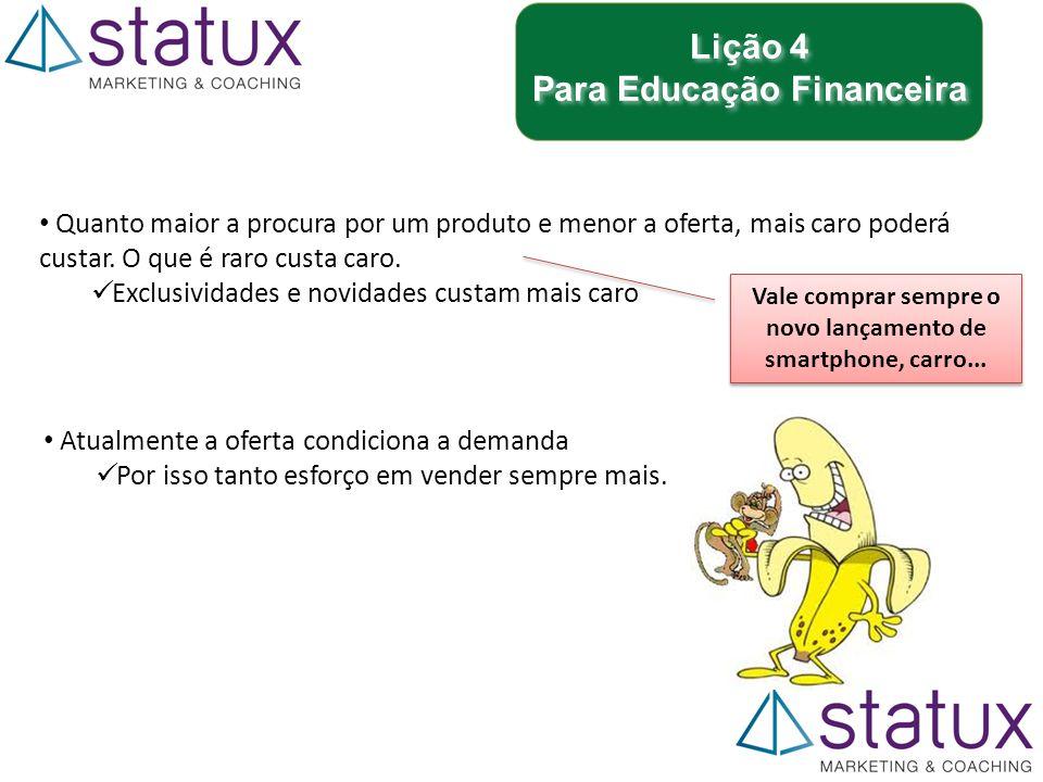 Lição 4 Para Educação Financeira