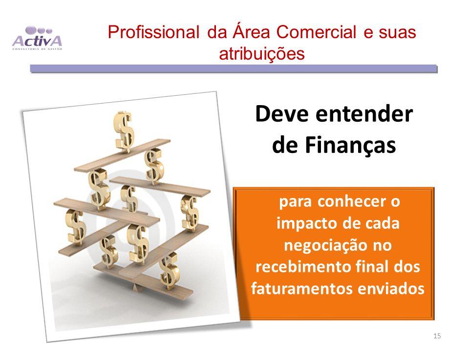 Profissional da Área Comercial e suas atribuições