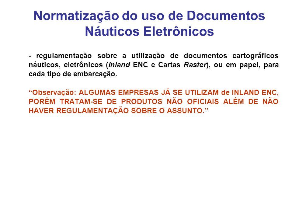 Normatização do uso de Documentos Náuticos Eletrônicos
