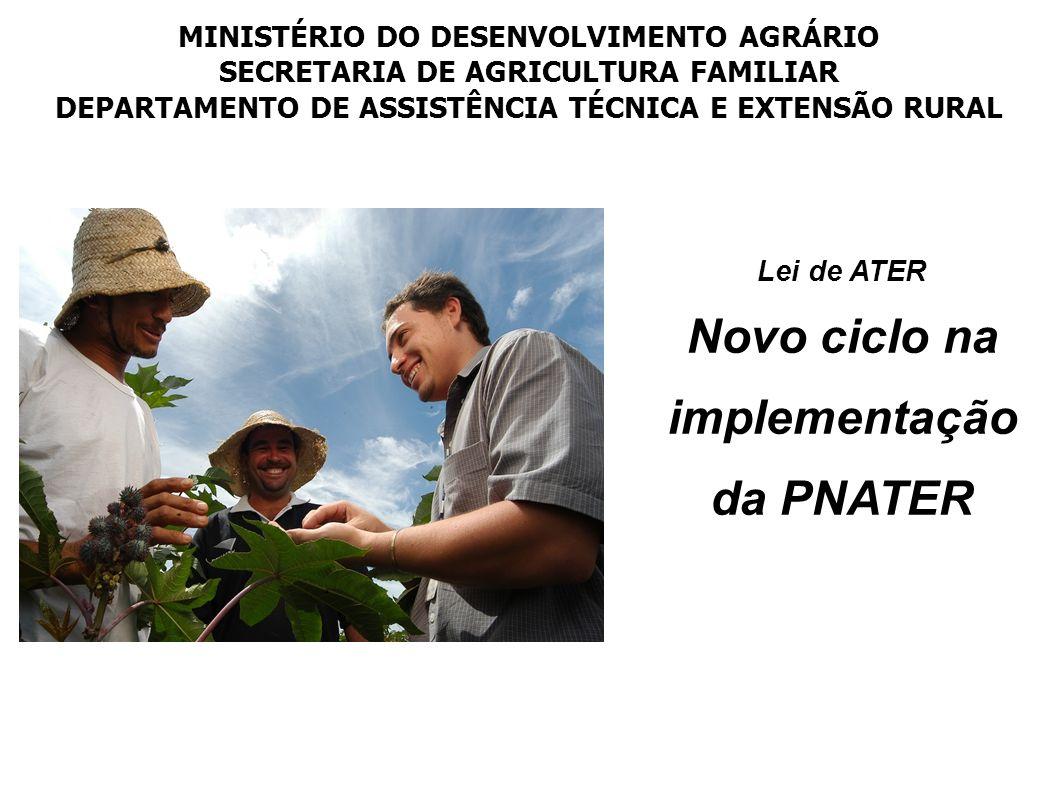 Novo ciclo na implementação da PNATER