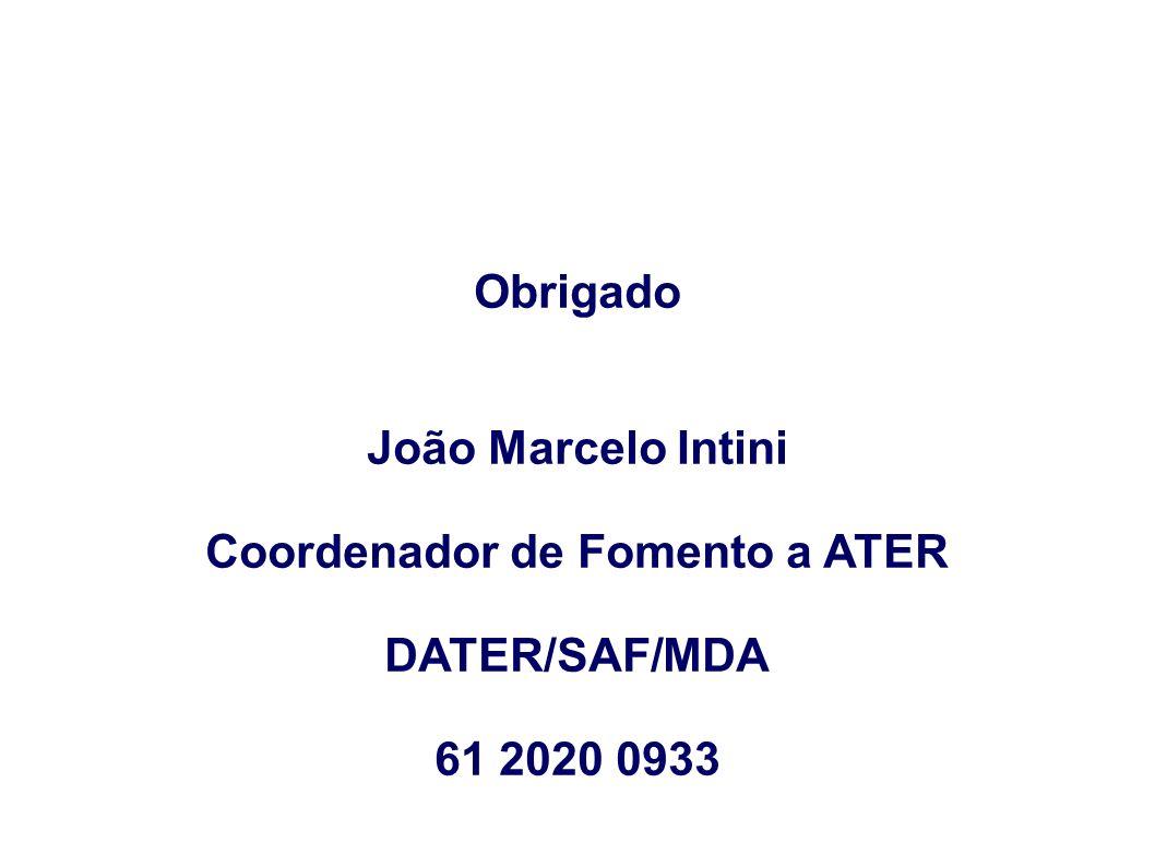 Coordenador de Fomento a ATER