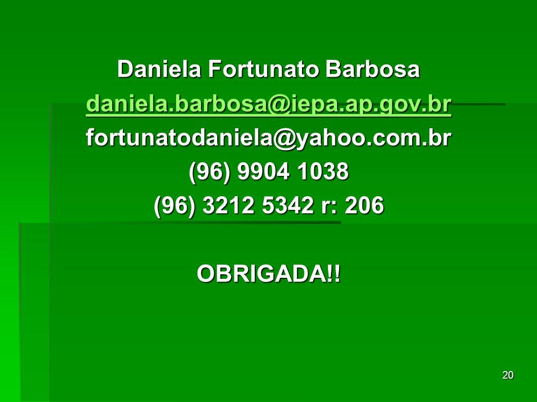 Daniela Fortunato Barbosa