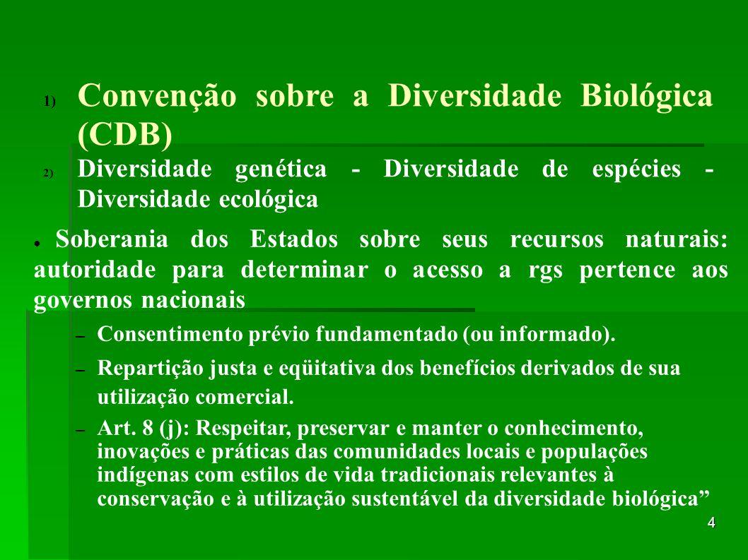 Convenção sobre a Diversidade Biológica (CDB)