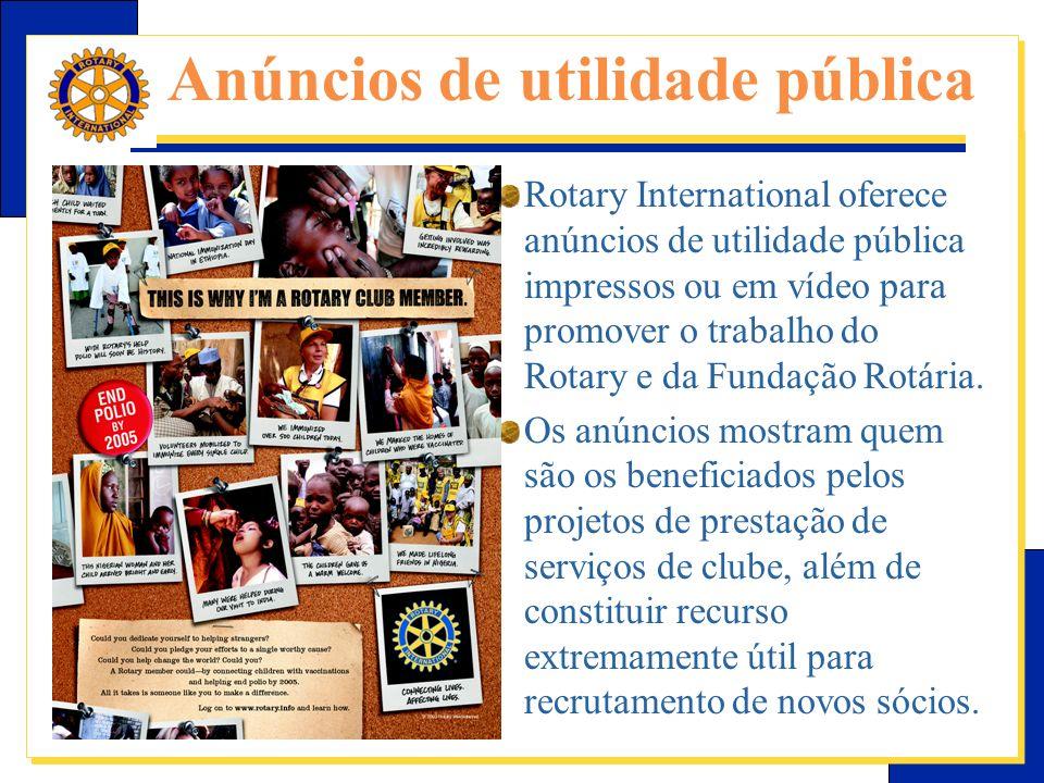 Anúncios de utilidade pública