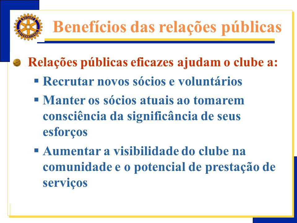 Benefícios das relações públicas