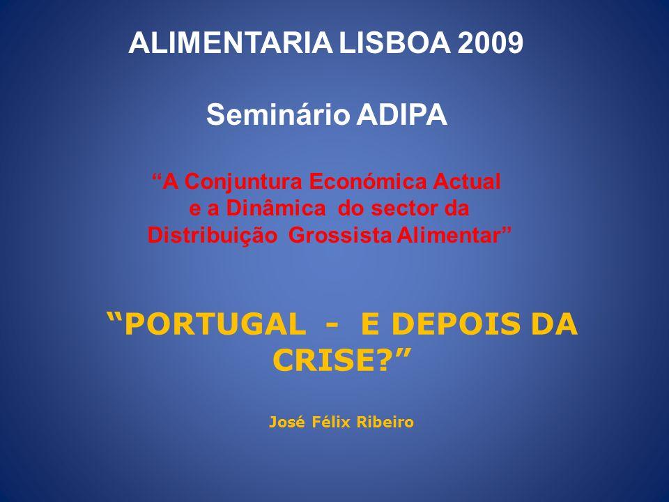 PORTUGAL - E DEPOIS DA CRISE José Félix Ribeiro
