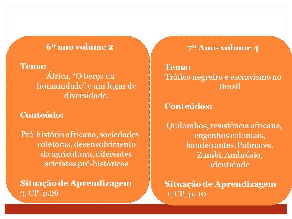 6º ano volume 2 7º Ano- volume 4