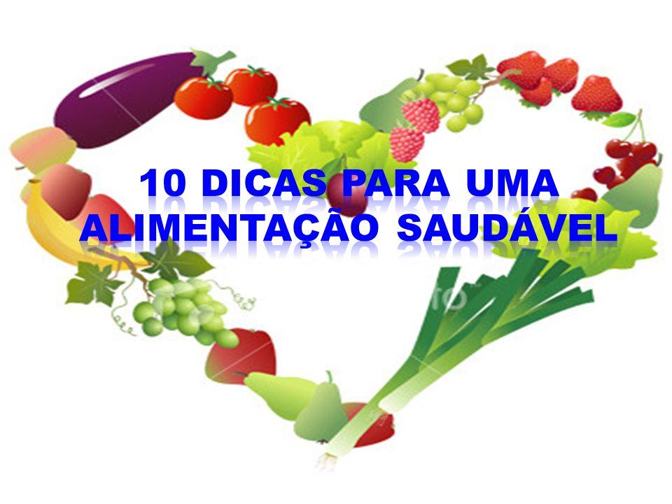10 dicas para uma alimentação saudável