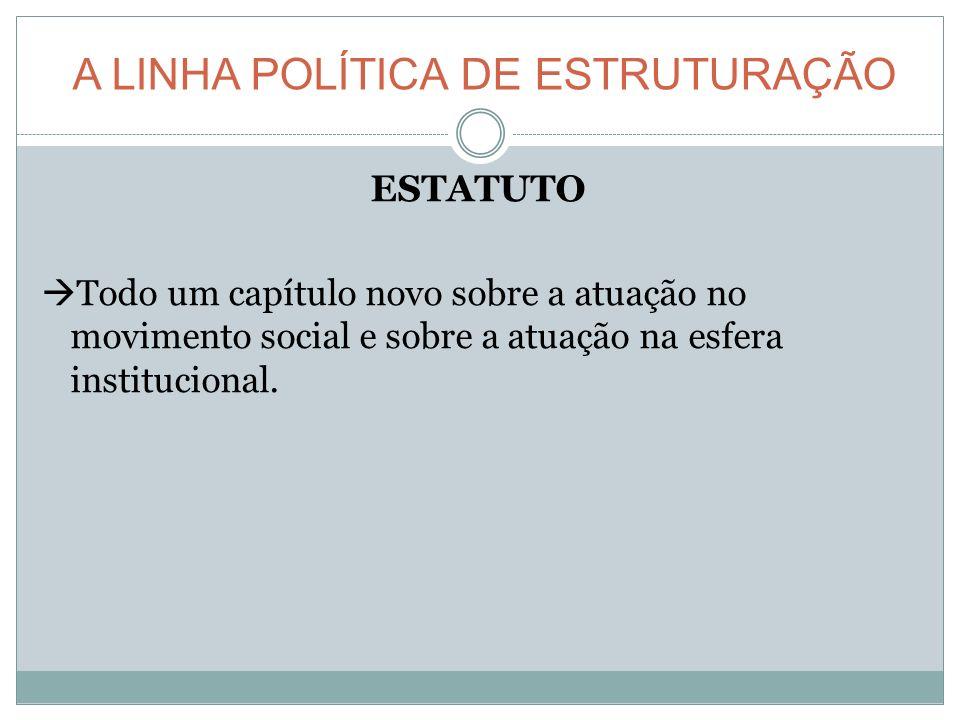 A LINHA POLÍTICA DE ESTRUTURAÇÃO