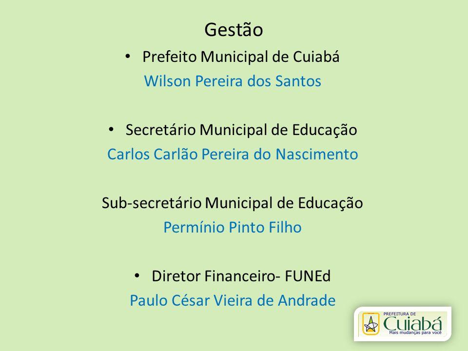 Gestão Prefeito Municipal de Cuiabá Wilson Pereira dos Santos