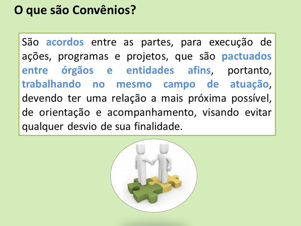 O que são Convênios