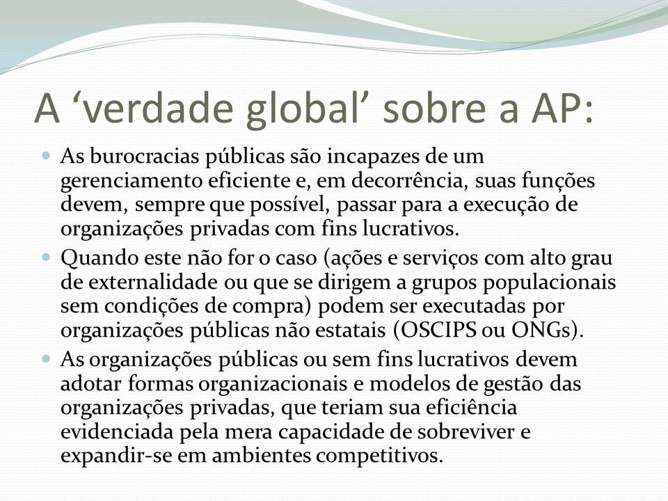 A 'verdade global' sobre a AP: