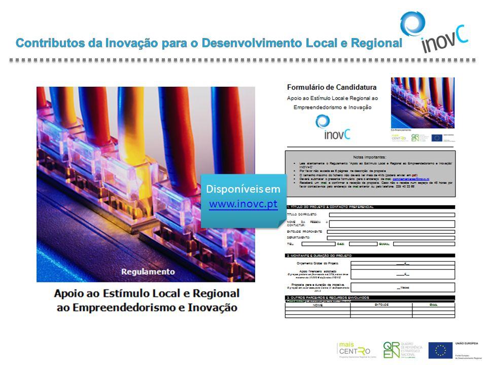 Contributos da Inovação para o Desenvolvimento Local e Regional
