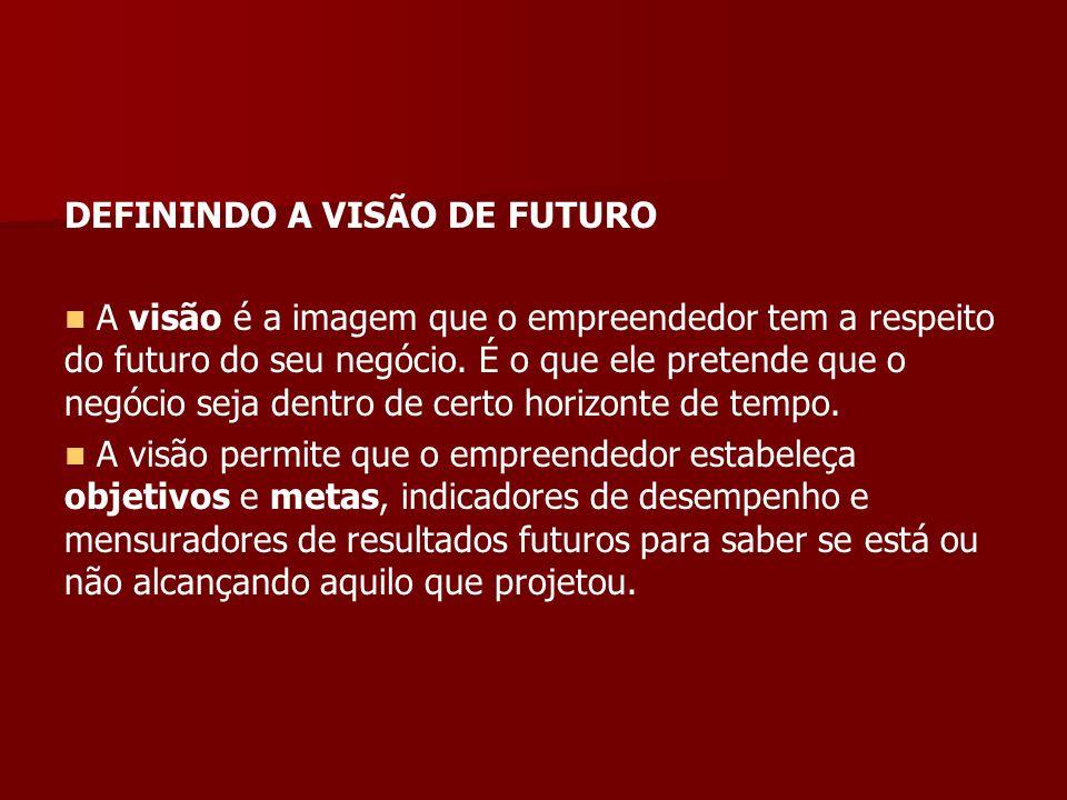 DEFININDO A VISÃO DE FUTURO