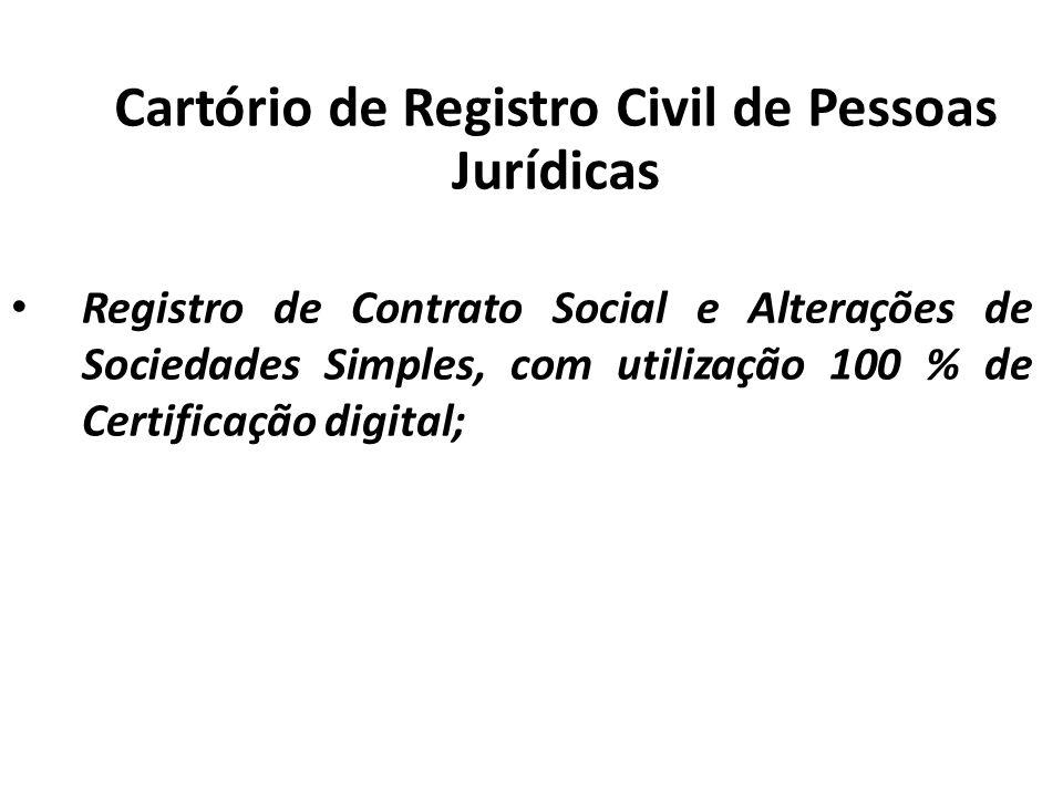 Cartório de Registro Civil de Pessoas Jurídicas