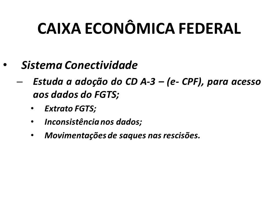 CAIXA ECONÔMICA FEDERAL