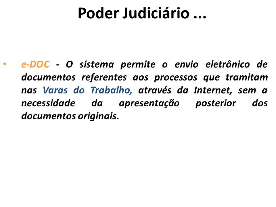 Poder Judiciário ...