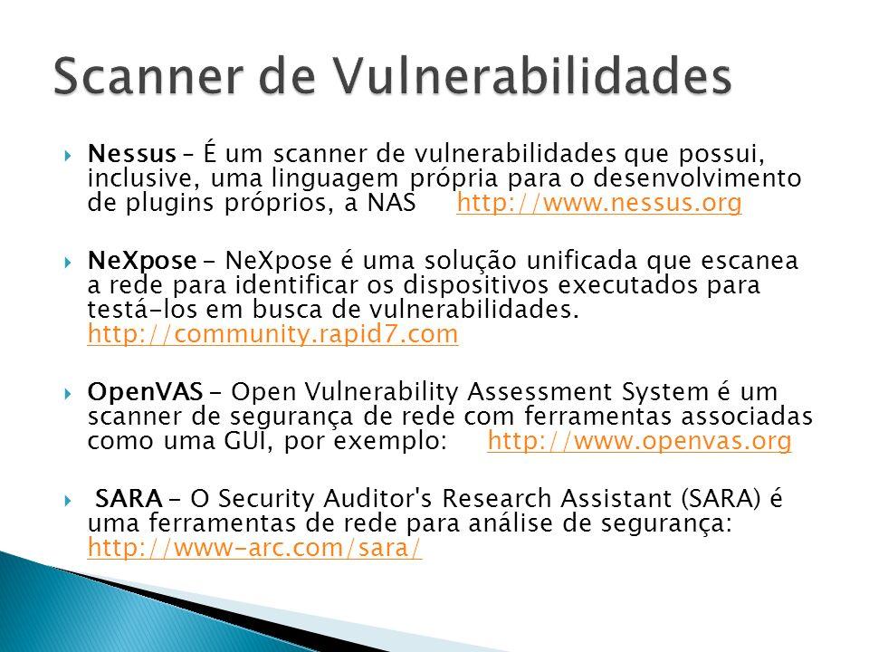 Scanner de Vulnerabilidades