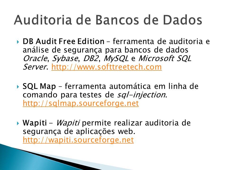 Auditoria de Bancos de Dados