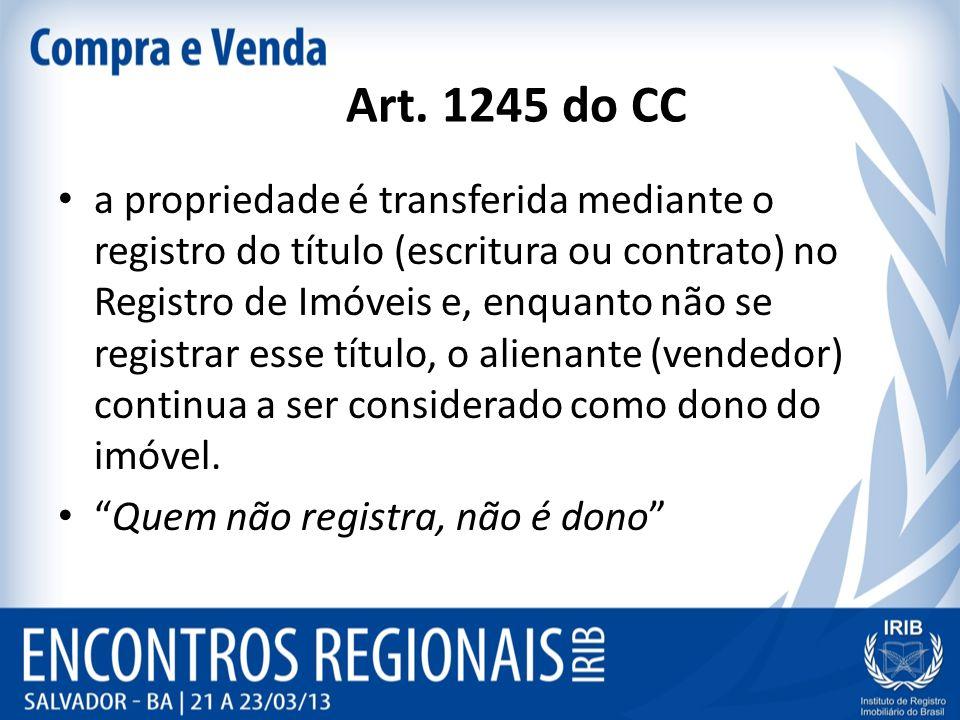 Art. 1245 do CC