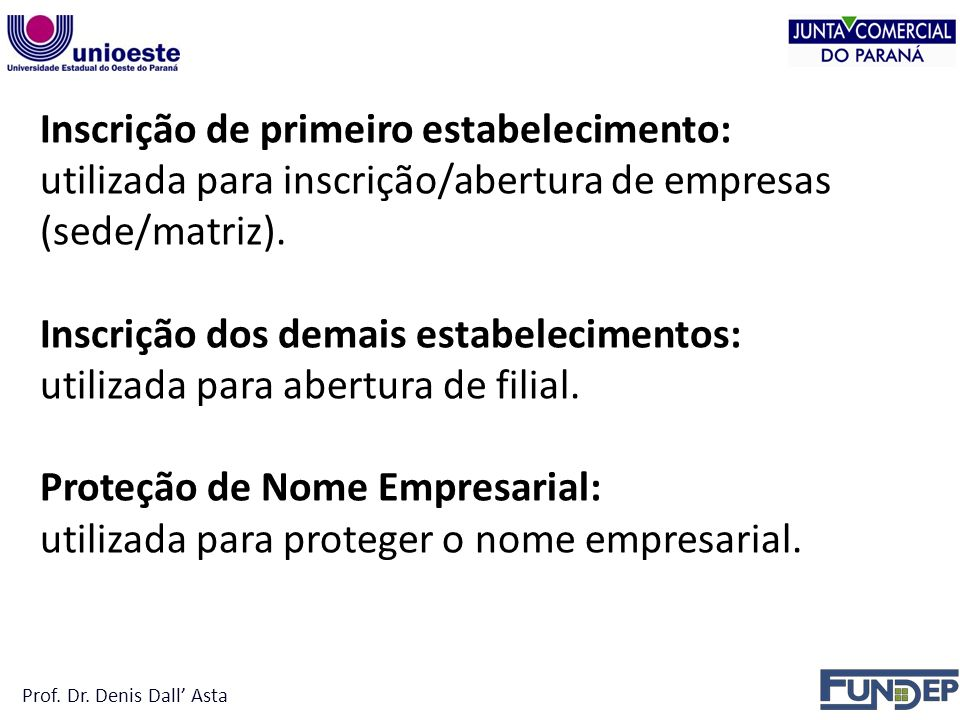 Proteção de Nome Empresarial: