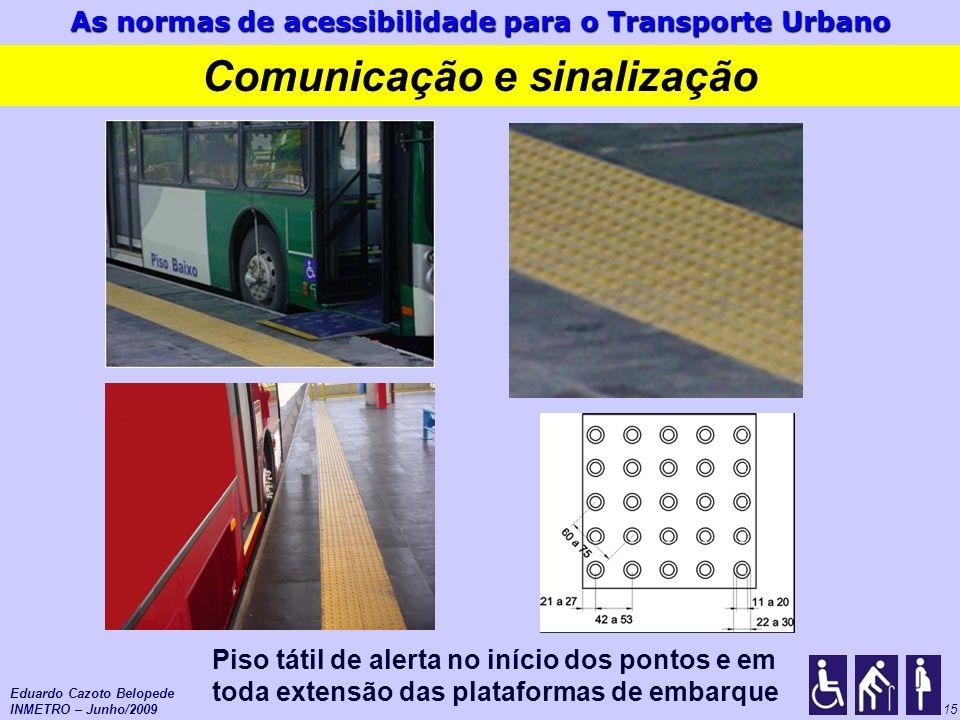 Comunicação e sinalização