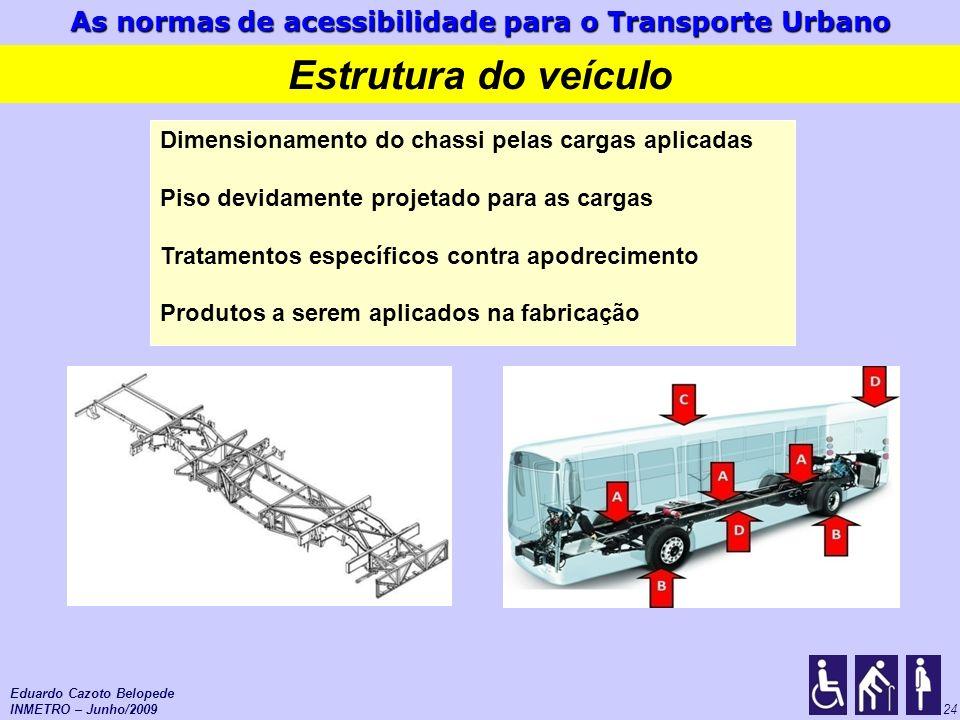 Estrutura do veículo Dimensionamento do chassi pelas cargas aplicadas